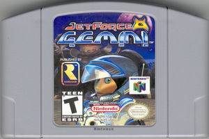 Jet Force Gemini (USA) Cart Scan